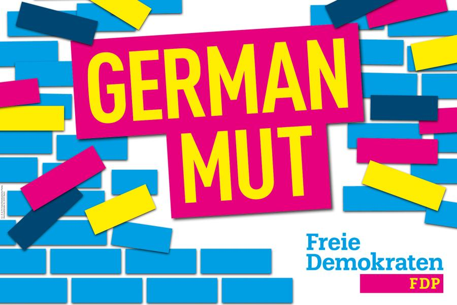 Parteitagsmotto #GermanMut